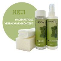 KERALUX® Leather Care Set V for leather with vintage-effect