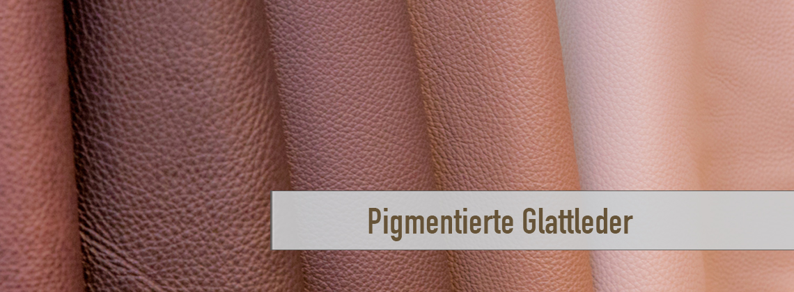 Pigmentierte Leder